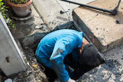 repairing blocked drains