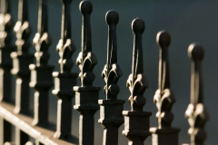 Tamworth wrought iron fencing costs